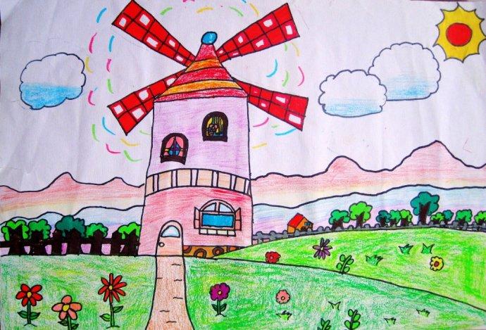 三年级儿童画大全一等奖作品