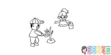 关于五一劳动节的简笔画怎么画 儿童简笔画大全