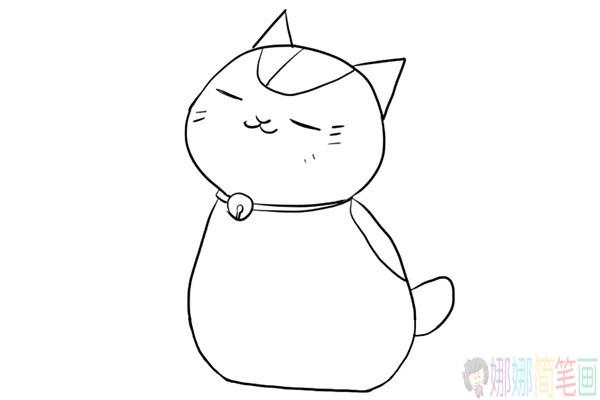 小猫的画法,小猫咪简笔画步骤
