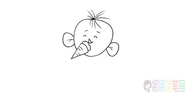 大耳朵图图怎么画