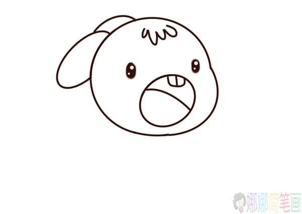 小兔子怎么画,小兔子简笔画教程