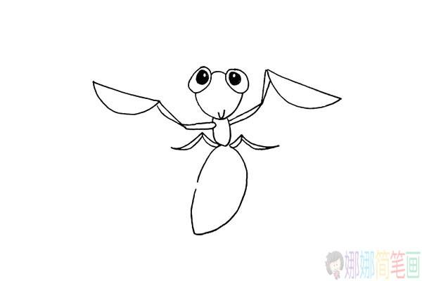 简单几步学画螳螂