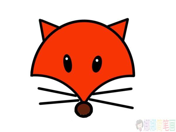 超简单的狐狸简笔画步骤