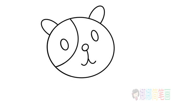 简单好画的小狗简笔画教程