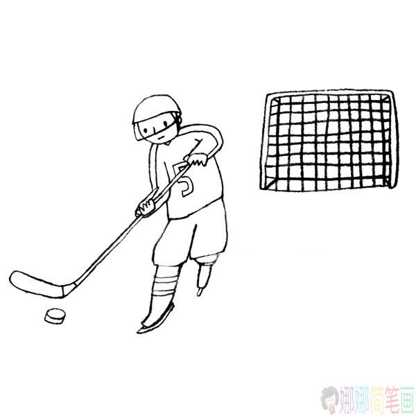冬奥会运动员简笔画图片