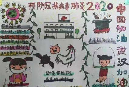 2020抗击新冠肺炎疫情手抄报图片大全