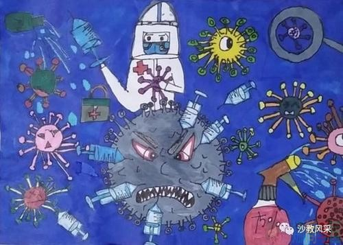 讲普通话手抄报_关于抗击新型冠状病毒的手抄报图片/儿童简笔画