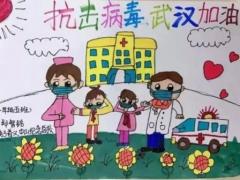 最简单的抗战儿童画_抗击疫情儿童绘画作品简单/第2页/儿童简笔画