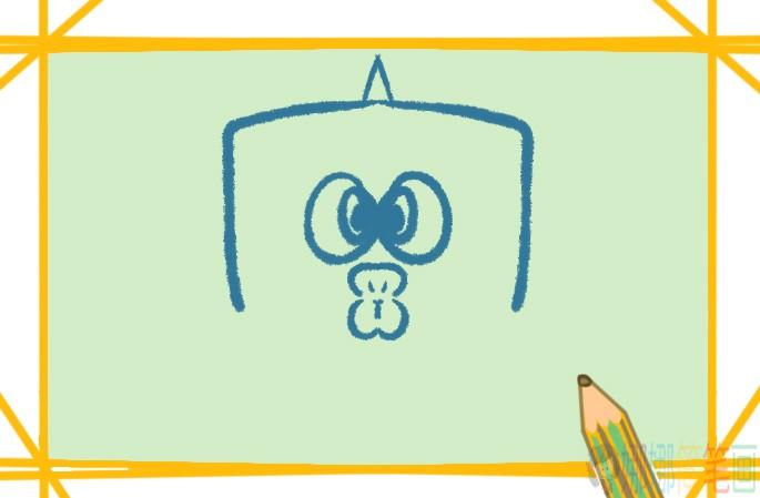 河豚简笔画图片教程
