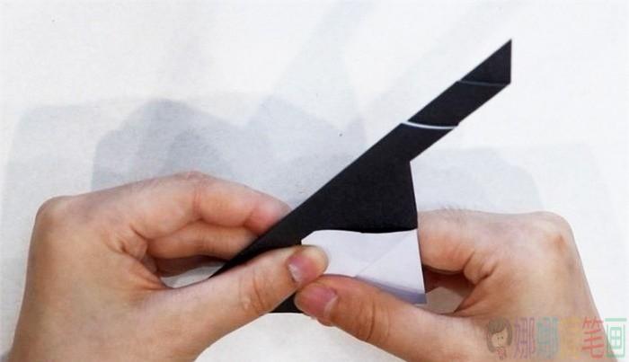 手工折纸墨镜图解步骤