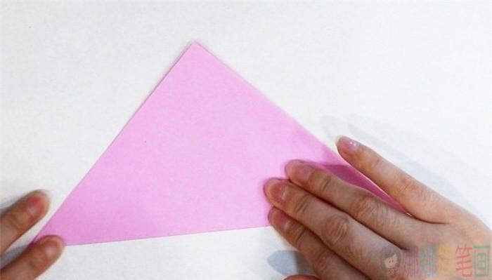 墨鱼动物手工折纸步骤图