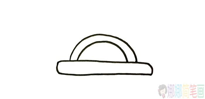 竹篮简笔画