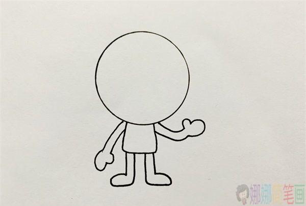 木乃伊简笔画画法