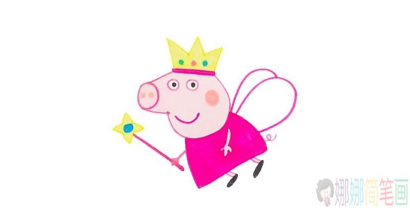 小猪佩奇动画人物简笔画教程