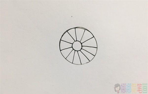 电风扇简笔画画法